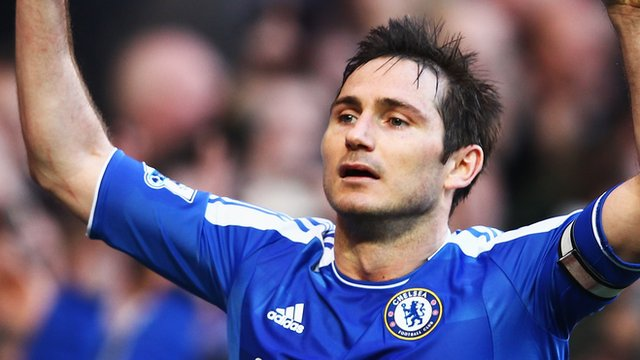 Frank Lampard of Chelsea