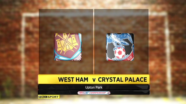 West Ham 0-0 Crystal Palace