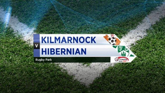 Highlighst - Kilmarnock 1-3 Hibernian