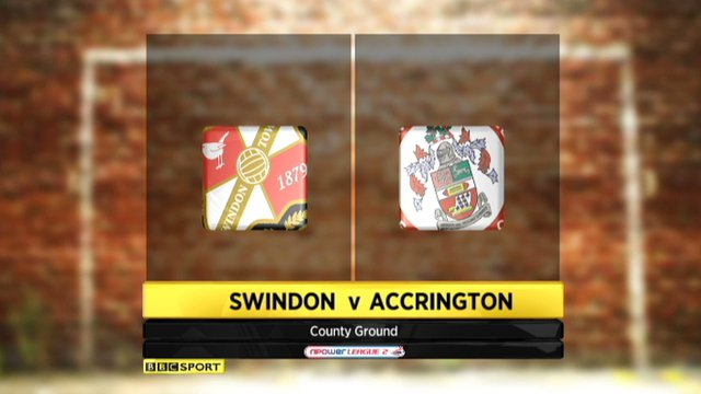 Swindon 2-0 Accrington
