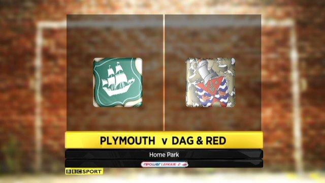 Plymouth 0-0 Dagenham & Redbridge