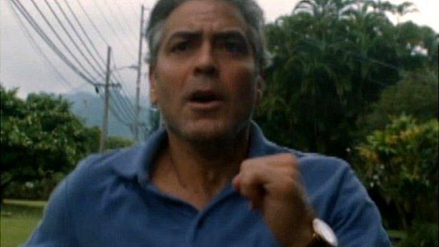 Best actor nominee George Clooney in The Descendants