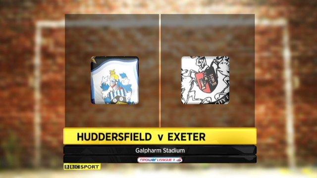 Huddersfield 2-0 Exeter