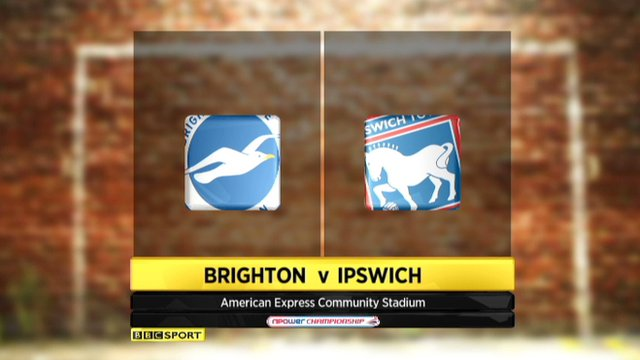 Brighton 3-0 Ipswich