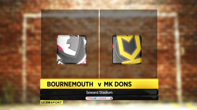 Bournemouth 0-1 MK Dons