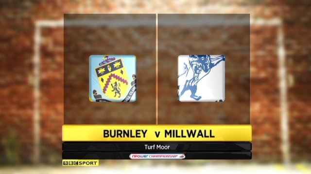 Burnley 1-3 Millwall