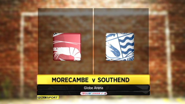 Morecambe 1-0 Southend