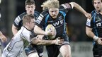 At Ravenhill, Opsreys prop Duncan Jones is tackled by Ulster's Chris Henry during the Pro12 clash.