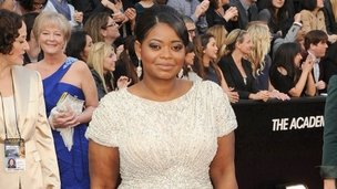 Octavia Spencer on the red carpet
