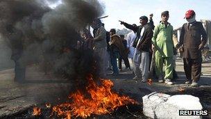 Protest in Jalalabad province over Koran burning