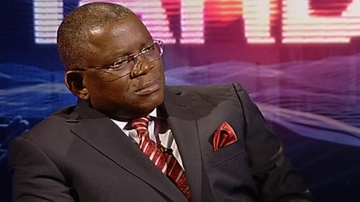 Angola's foreign minister Georges Chikoti