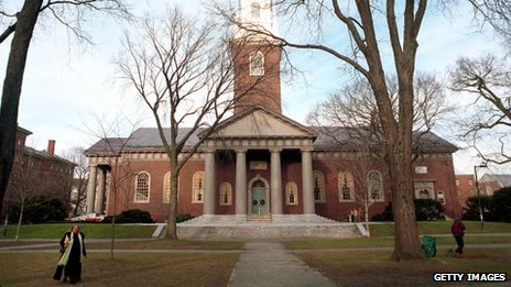 Harvard university library