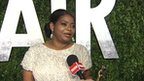 Octavia Spencer after winning the Oscar for best supporting actress