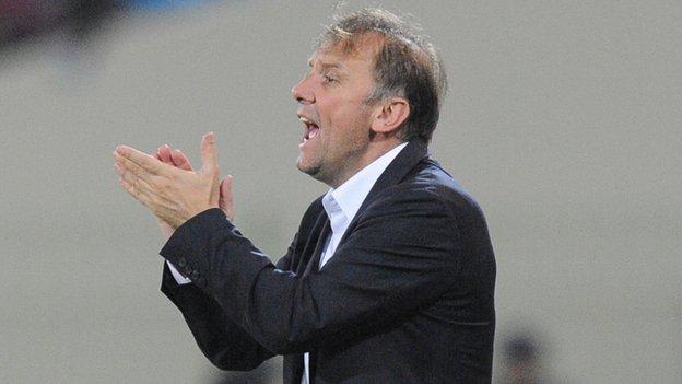 Ghana coach Goran Stevanovic