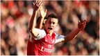 Laurent Koscielny celebrates