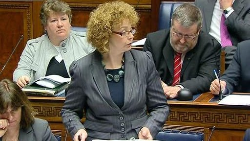 Culture Minister Caral Ni Chuilin reported back to assembly on the latest North-South Ministerial Council (NSMC) meetings