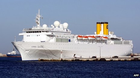 Costa Allegra (June 10, 2011 in Rhodes)