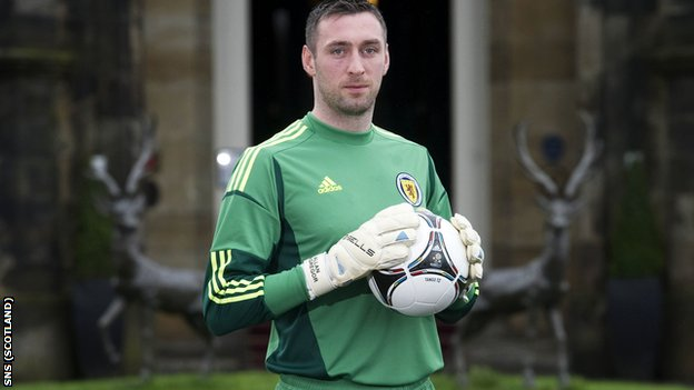 Rangers and Scotland goalkeeper Allan McGregor