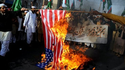 Watch Nel's story protests and violence following Koran burning in Afghanistan
