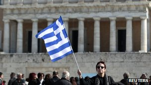 Greek Parliament building