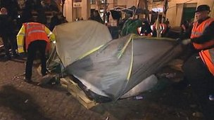 Occupy London camp eviction