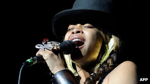 File photo Erykah Badu