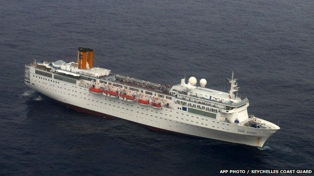 Costa Allegra file photo