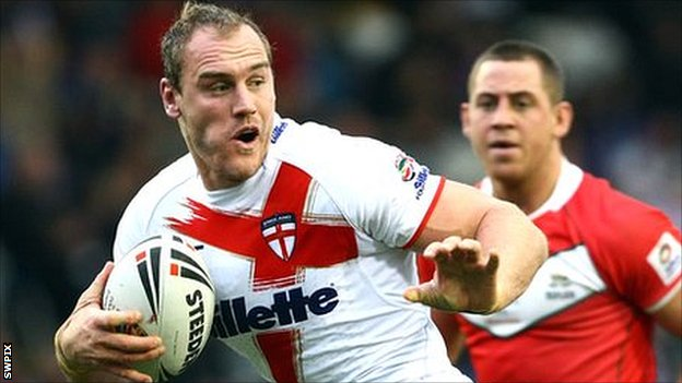Gareth Ellis made 109 Super League appearances for Leeds