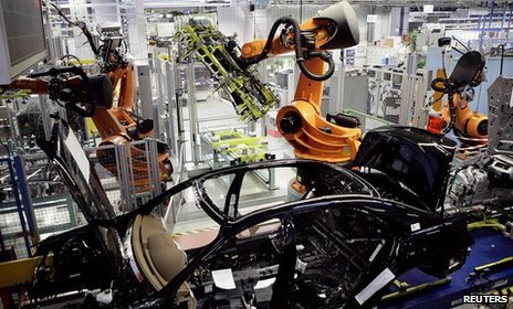 Mercedes assembly Reuters