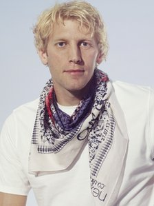 Andy-Triggs Hodge MBE models the Team GB scarf