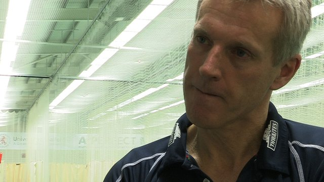 Lancashire cricket coach Peter Moores