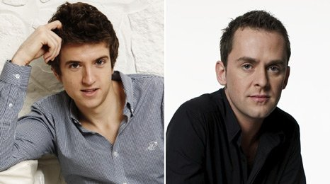 Greg James and Scott Mills