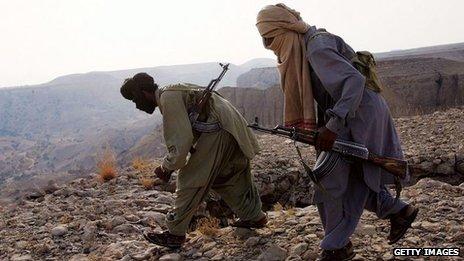 Tribal guerrillas in Balochistan (file picture, 2006)