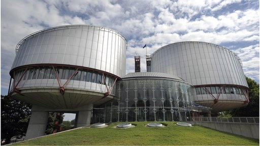Court of Human Rights in Strasbourg