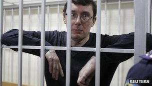 Yuri Lutsenko in court in Kiev, 27 February