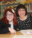Courtney and Mrs Nguyen, Whitley Academy
