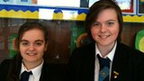 Hannah and Rebecca, Carrickfergus College