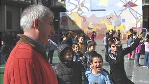 Headteacher Francesc Catala