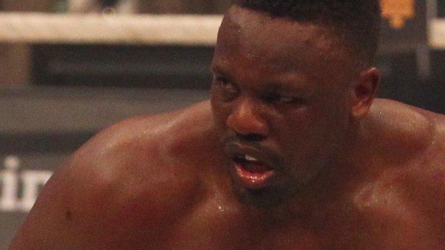British boxer Dereck Chisora