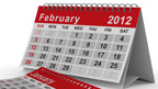 Calendar for February 2012