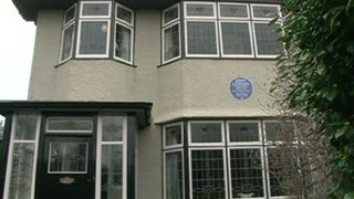 John Lennon's childhood home, Mendips, on Menlove Avenue