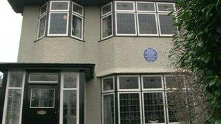 John Lennon's childhood home, Mendips, on Menlove Avenue