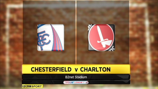 Chesterfield 0-4 Charlton