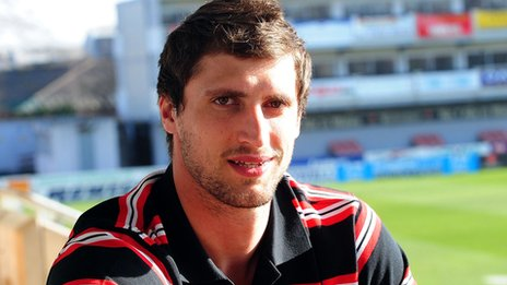 Luke Charteris has been out with a wrist injury