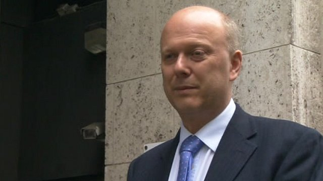 Welfare Minister Chris Grayling