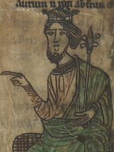 Image from Hywel Dda's law manuscript