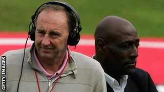 Jonathan Agnew and Sir Viv Richards