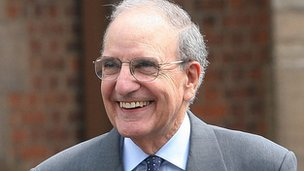 US Senator George Mitchell helped broker the Good Friday Agreement