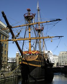 The Golden Hinde in 2003