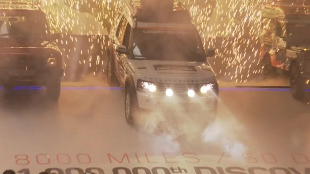 The one millionth Land Rover